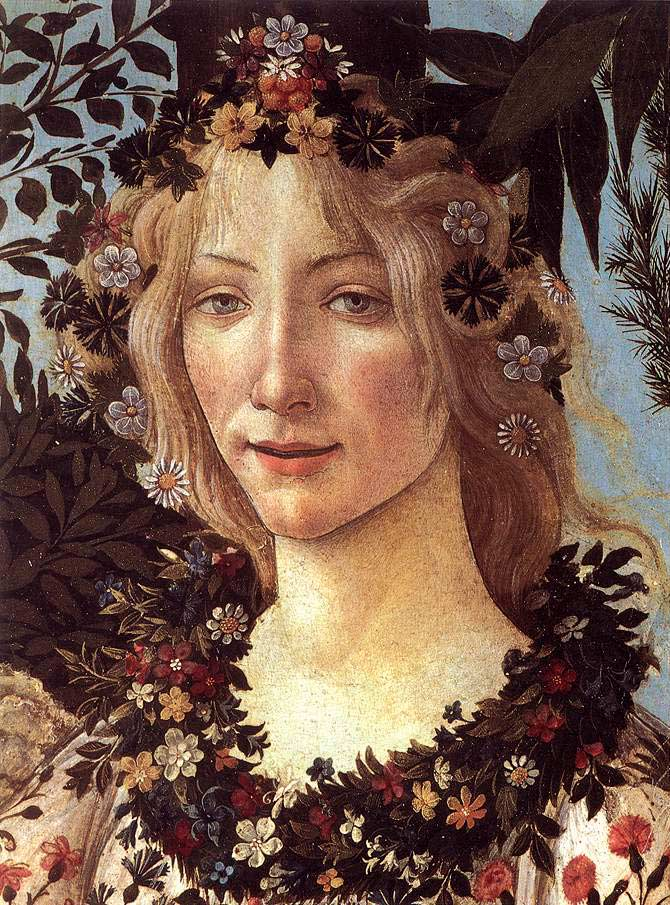 la primavera by sandro boticelli Sandro botticelli, la primavera, c 1482, tempera on wood sandro botticelli was one of the most well-known of the medici employees he studied under fra filippo lippi and had a technique which focused on line, and his forms were lightly shaded.