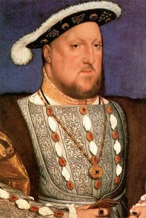 Портрет Генриха 8. Гольбейн