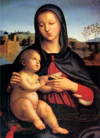 Рафаэль. Мадонна с младенцем
