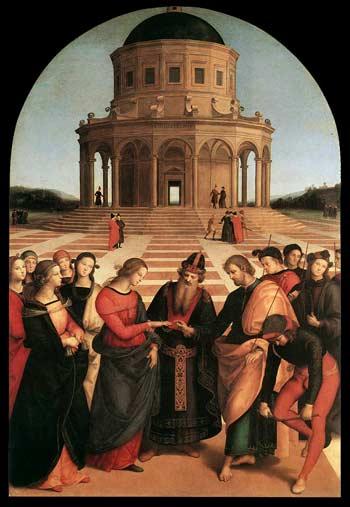 Рафаэль. Обручение Девы Марии