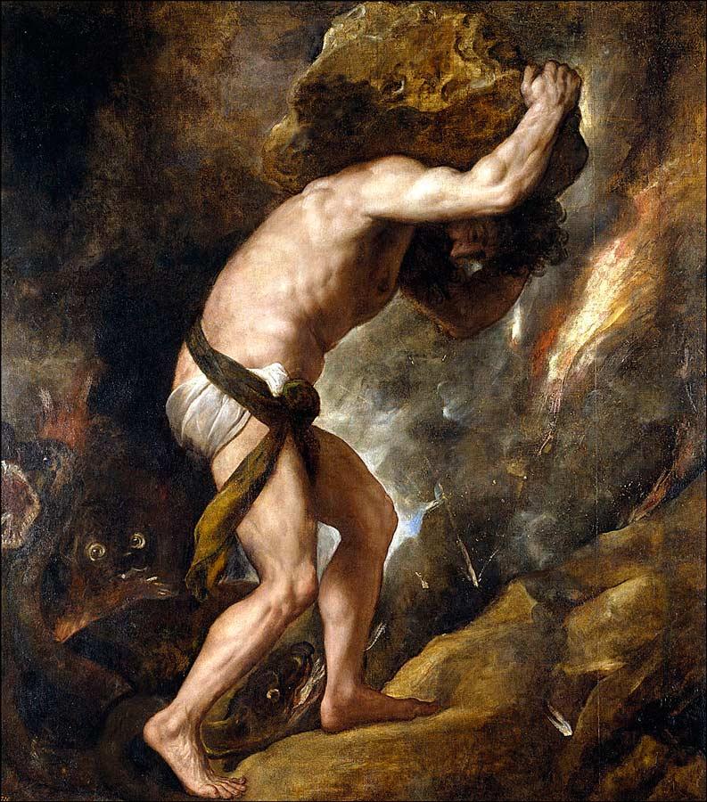 Древнегреческий миф про прометея и его друзья