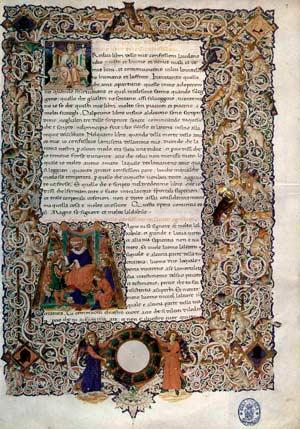 Рукопись Августина