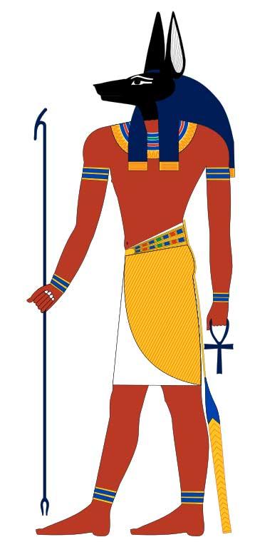 Древнеегипетский бог Анубис