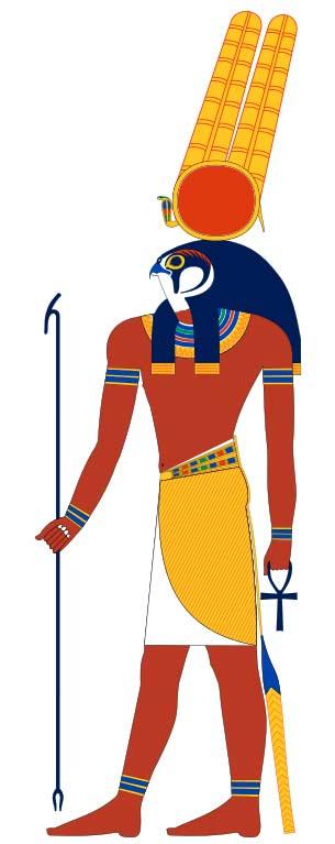 Древнеегипетский бог Монту