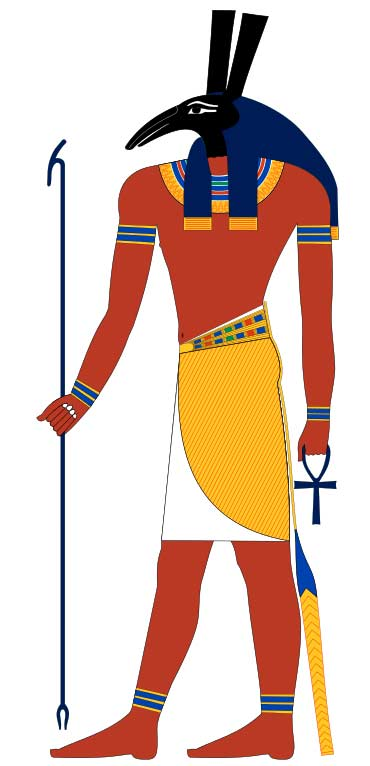 Древнеегипетский бог Сет