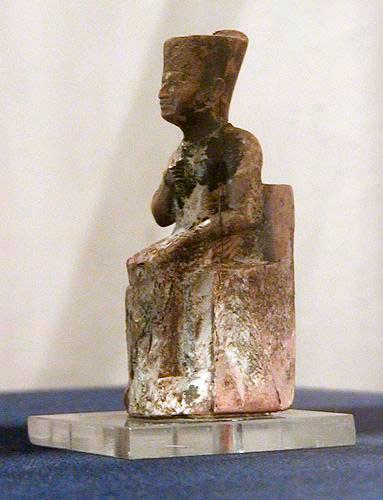 Статуя фараона Хуфу (Хеопса)