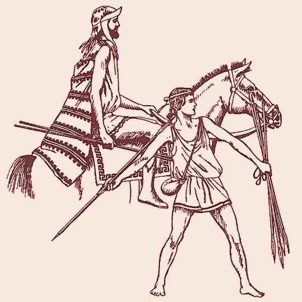 Греческие воины