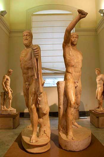 Гармодий и Аристогитон