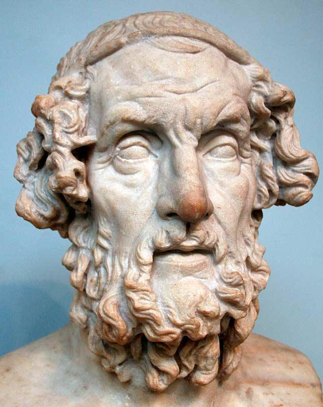 Древнегреческий поэт ивик