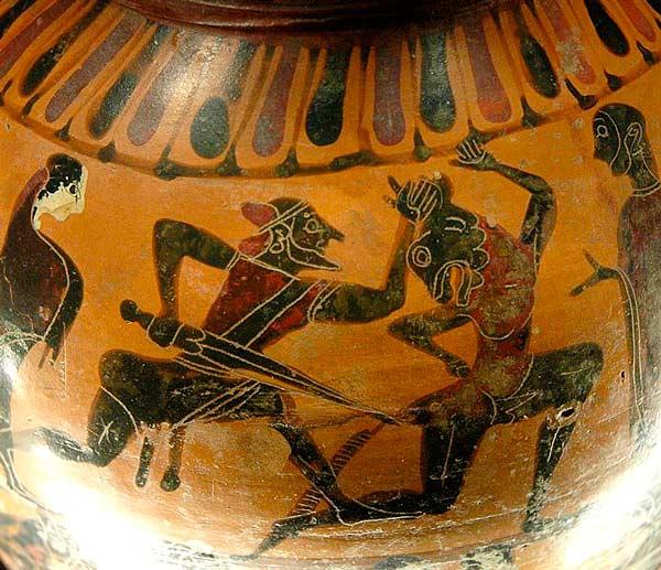 Древнегреческие мифы о тесее