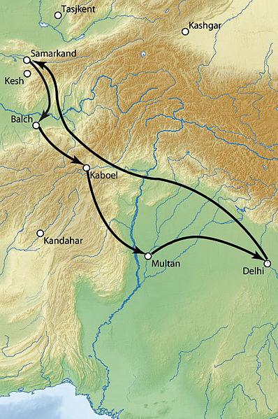 Поход Тимура в Индию