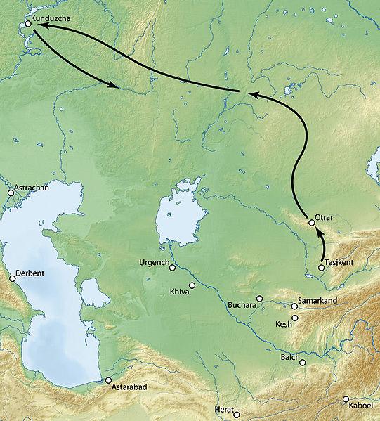 Первый поход Тимура против Тохтамыша