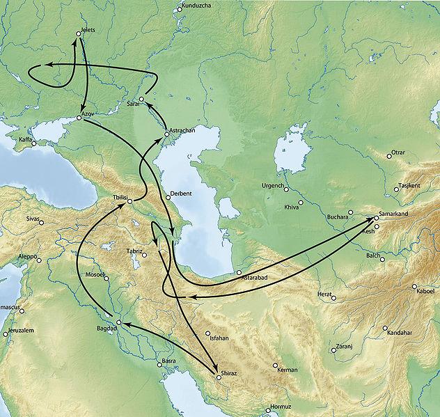 Войны Тимура с Тохтамышем в 1392–1396