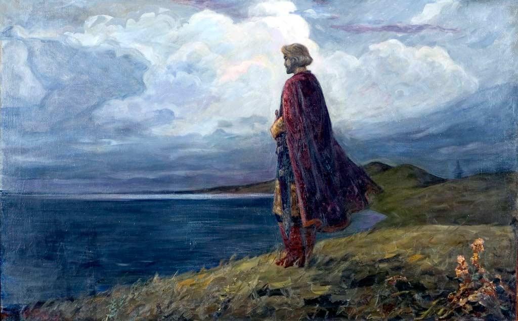 Александр Невский на Плещеевом озере