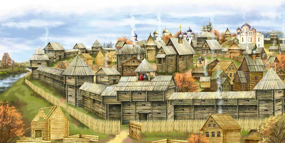 Картинки природы старых городов