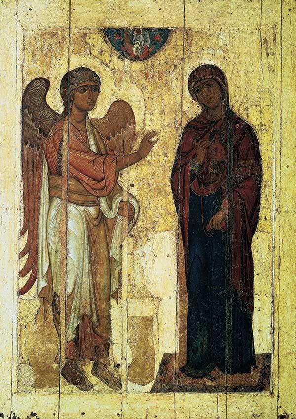 Иконопись Древней Руси - Благовещение Устюжское