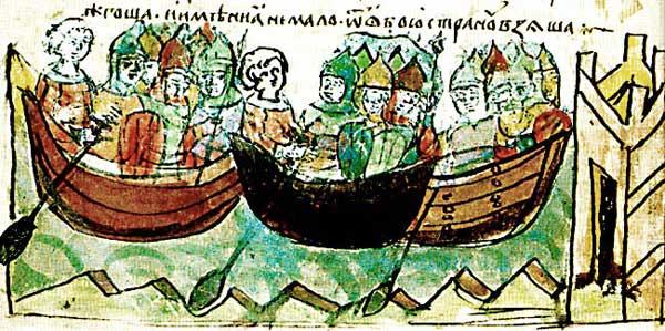 Поход князя Игоря на Константинополь в 941