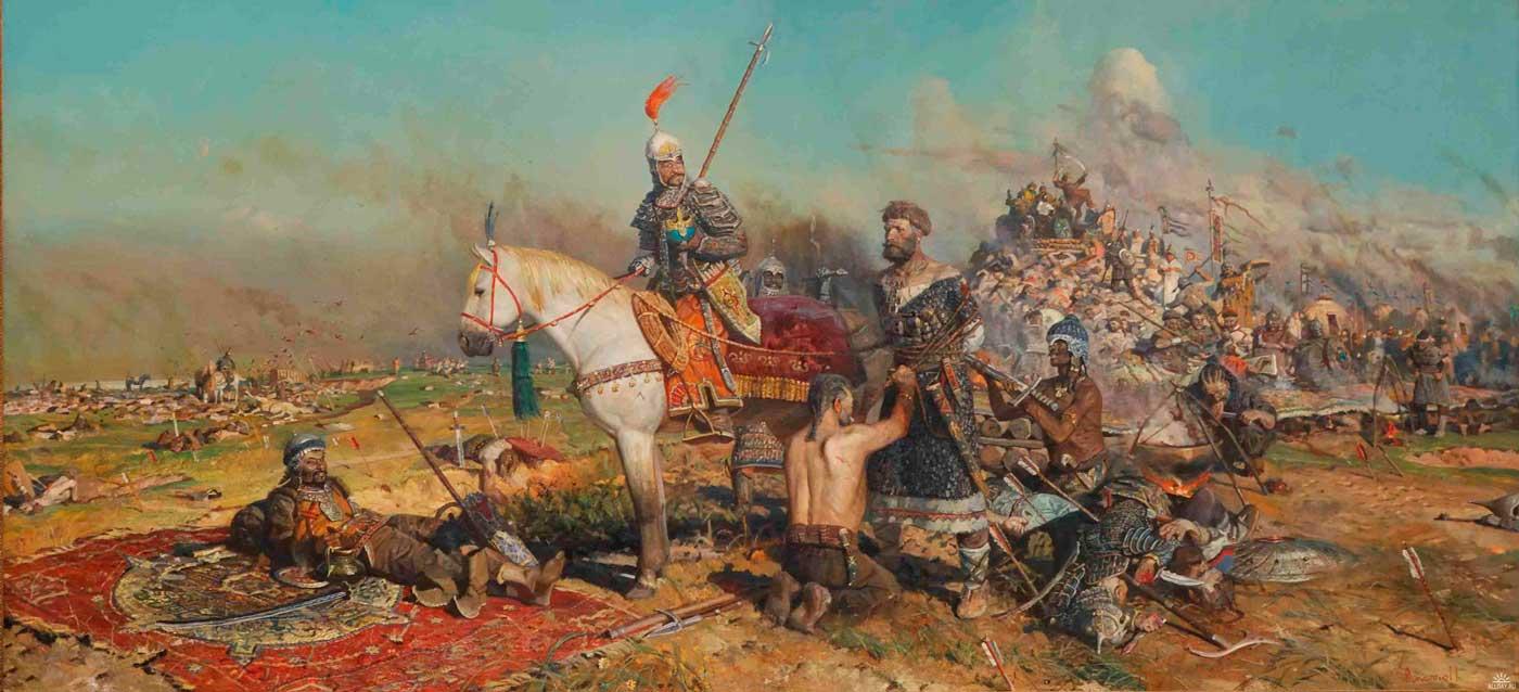 общего пользования слова чингисхана перед боем с русскими тетрадь русскому