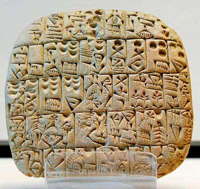 Письменность Древней Месопотамии