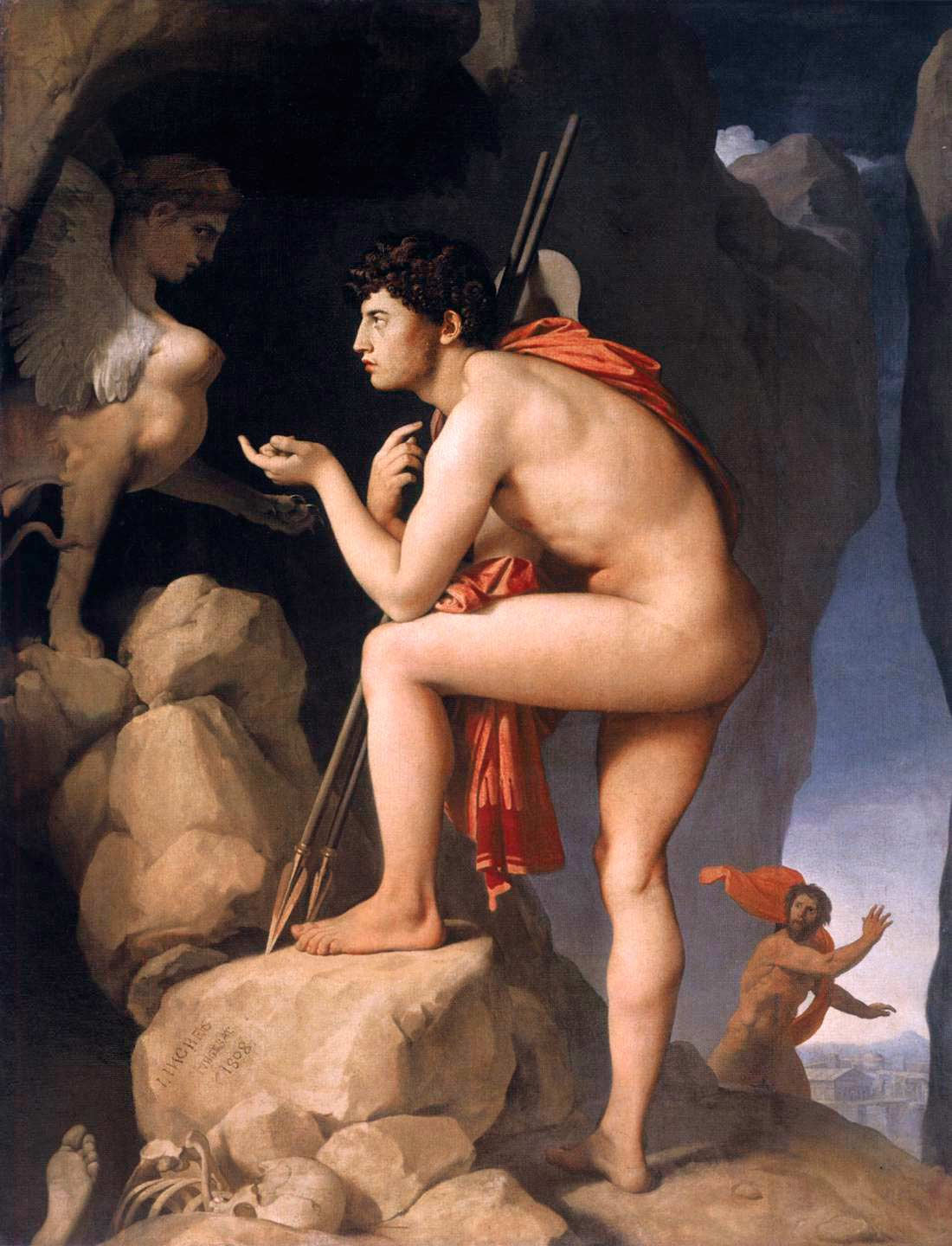 a literary analysis of oedipus the king of riddles in greek mythology Free will in oedipus rex it is funny how in many stories, especially those of greek mythology and plays, the plot is based around a set prophecy that determines the fate of.