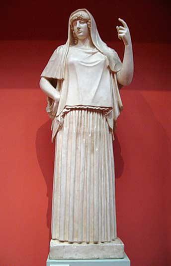 Богиня Гестия