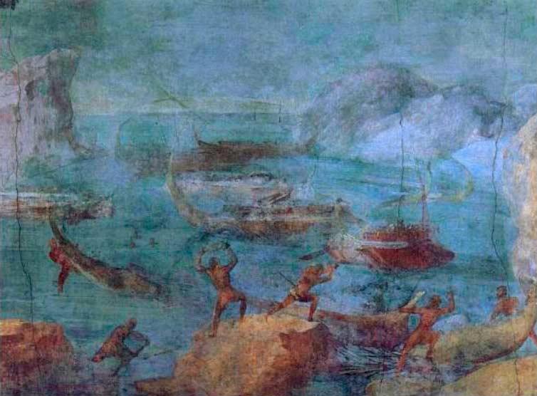 Одиссей и лестригоны