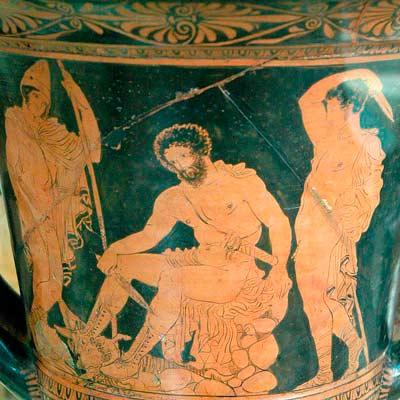 Одиссей в царстве Аида