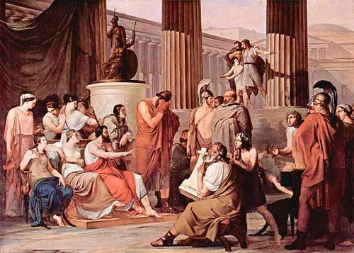 Одиссей при дворе царя феаков Алкиноя