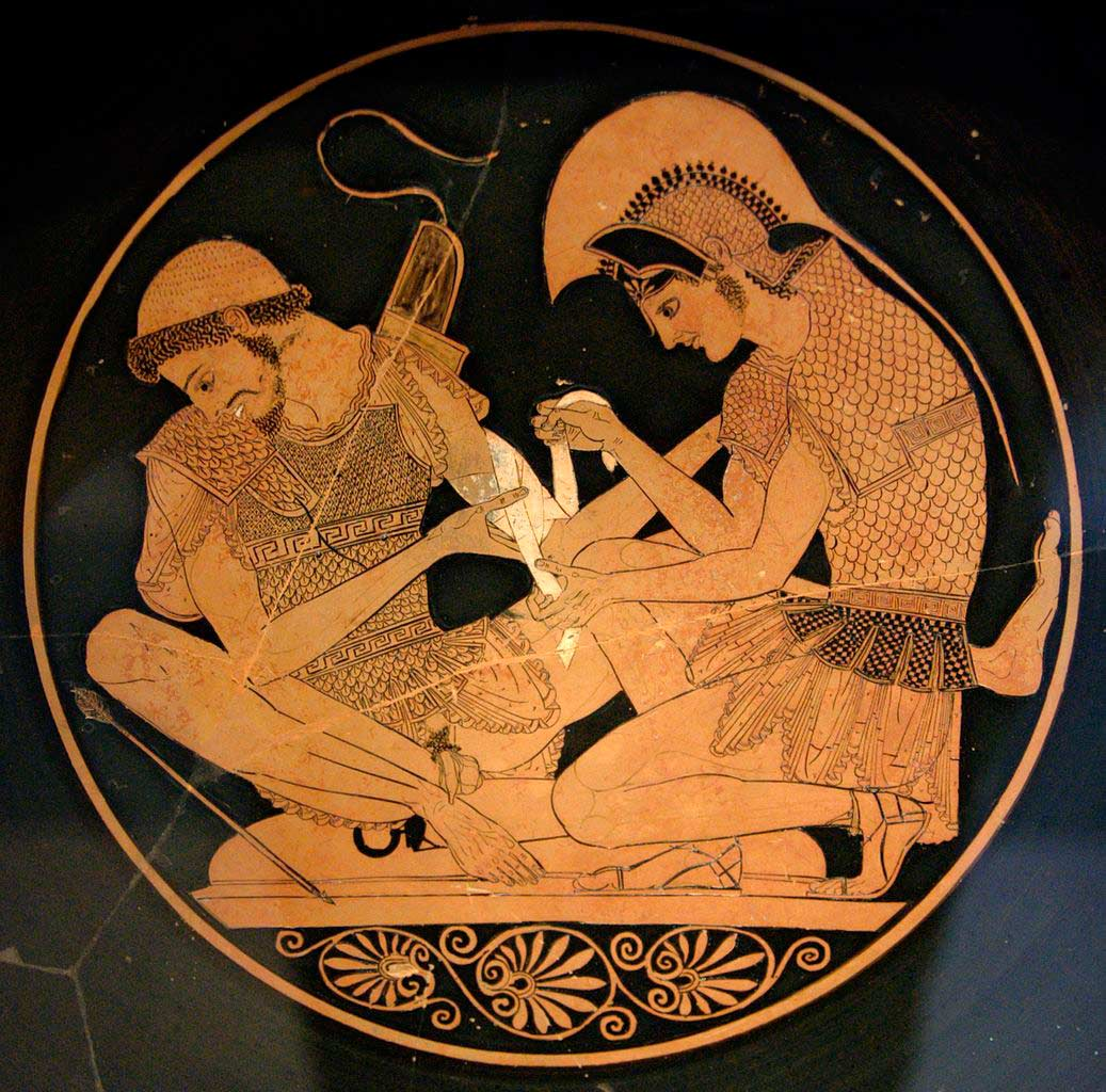 a literary analysis of the fate of patroclus in the iliad by homer