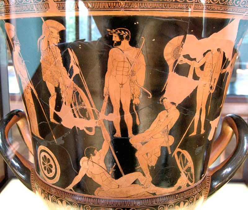 Древнегреческий миф афродита дала мяч э