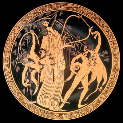 Дионис и сатиры