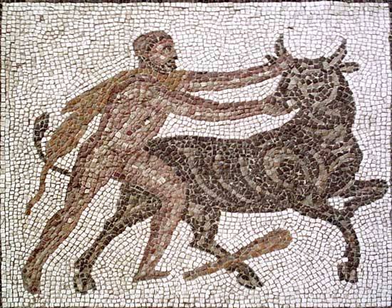Геракл и критский бык