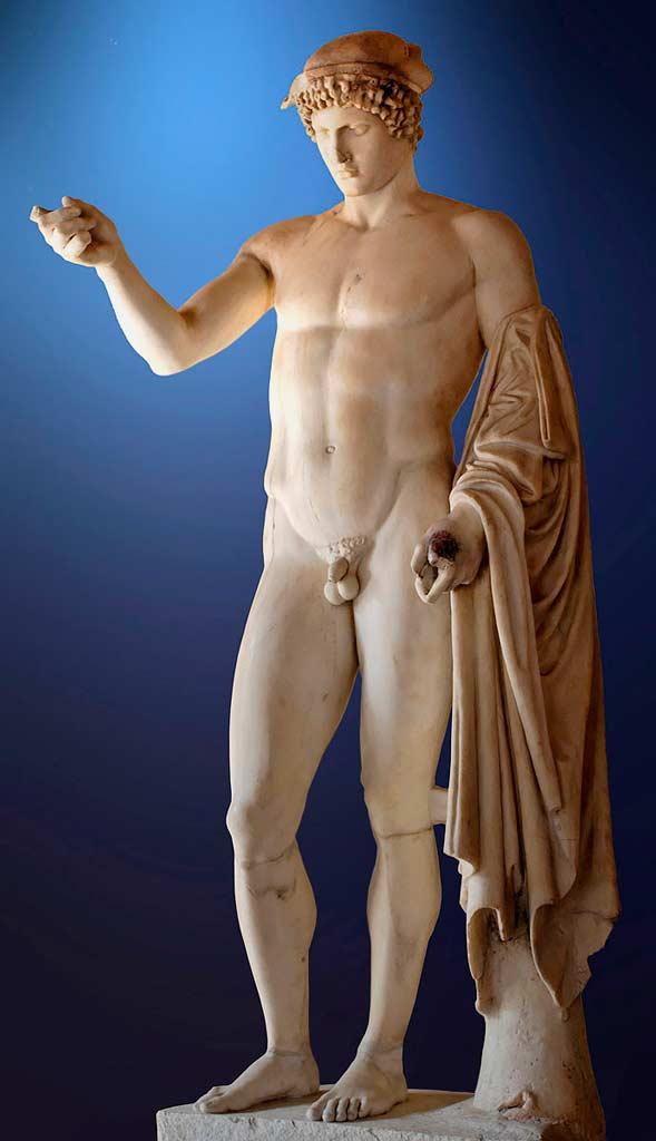Древнегреческий бог силы