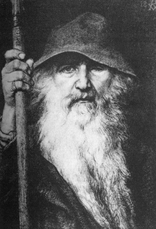 Скандинавские боги Odin-bog