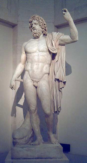 Статуя Посейдона