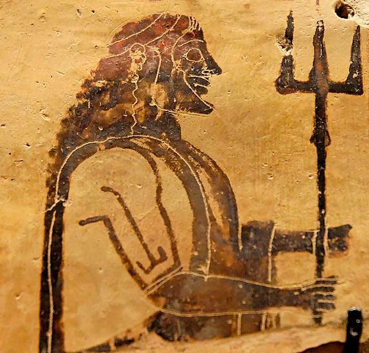 Древнегреческий бог символы