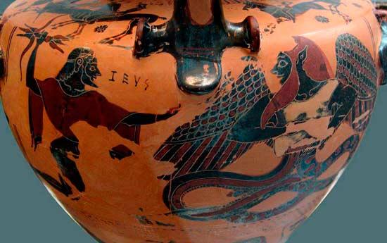 Зевс и Тифон
