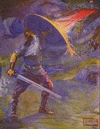 a brief analysis of unferth the same martyr from the epic poem beowulf