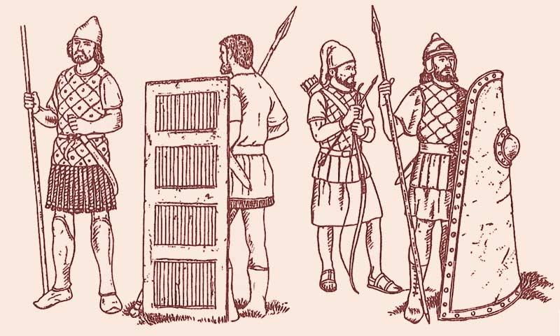 Солдаты армии Ксеркса