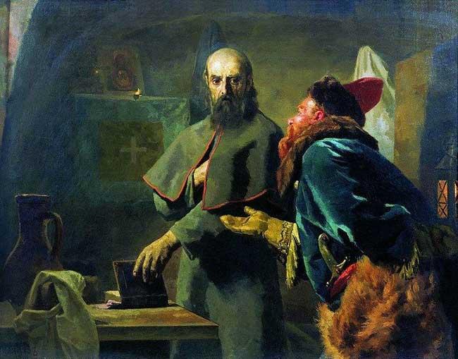 Митрополит Филипп, опричнина