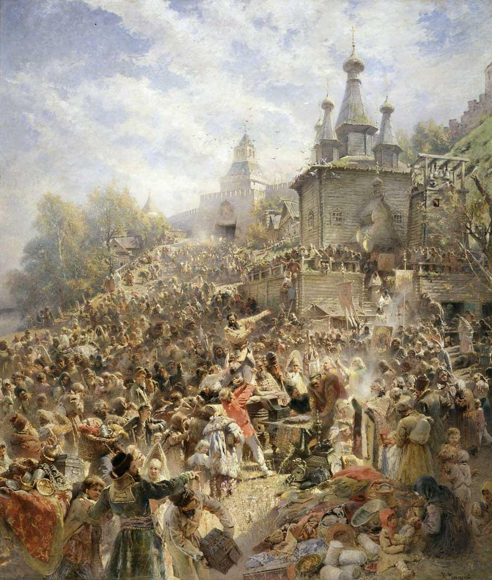 Осенняя Казанская - праздник, да какой! 73-makovsky_minin-big