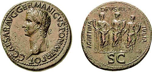 Сестерций Калигулы