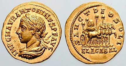 Монета Гелиогабала