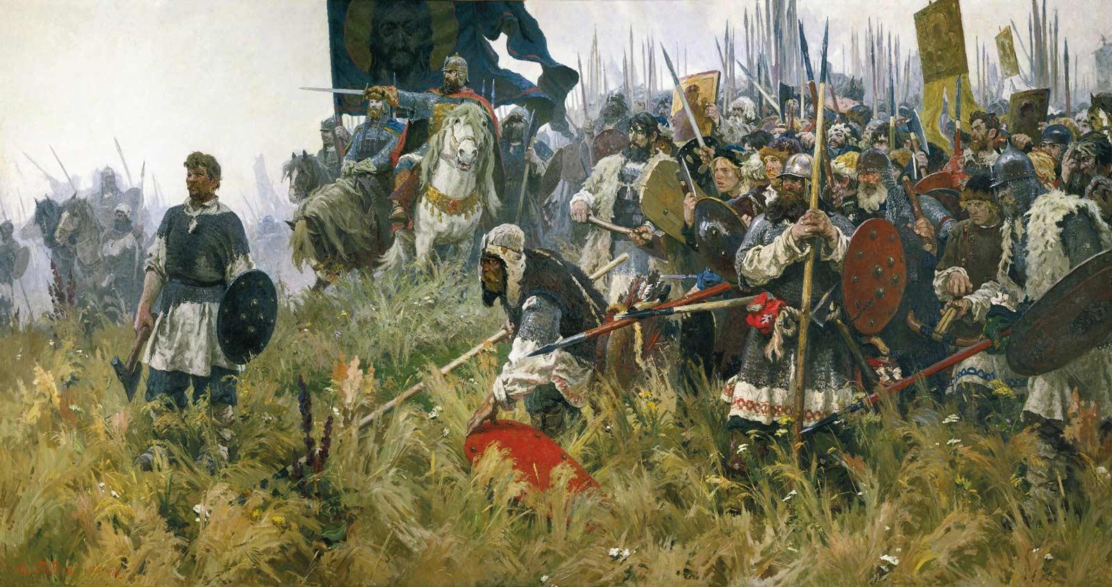 Дмитрий донской куликовская битва доклад 8890