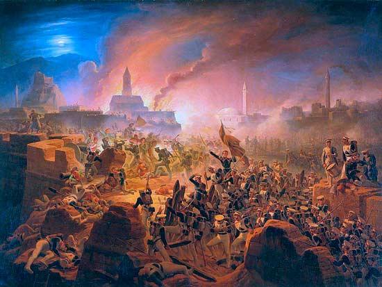 Бои за Ахалцих в 1828