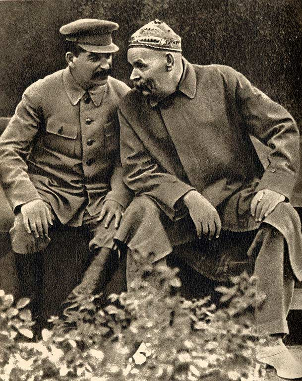 Горький Максим биография и творчество Русская историческая  Горький и Сталин