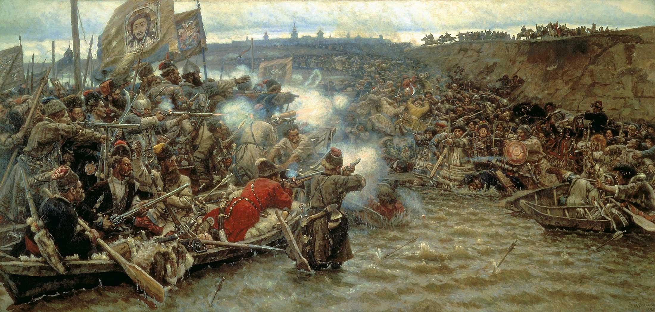 Ермак освоение сибири доклад 706