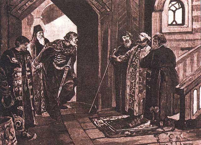 Свидание Дмитрия Шемяки с Василием II