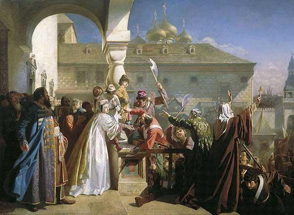 стрелецкий бунт 1682