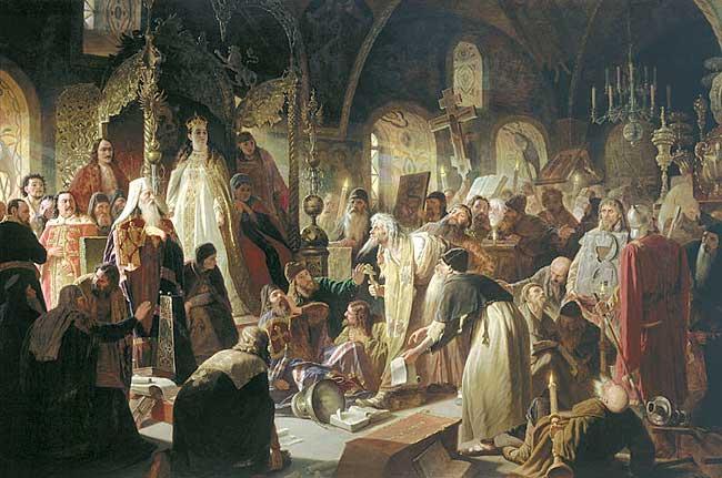стрелецкий бунт 1682 - никита пустосвят